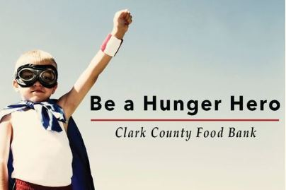 Be a Hunger Hero for Clark County